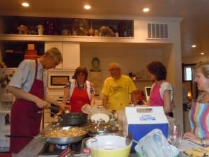 Wim cooking class